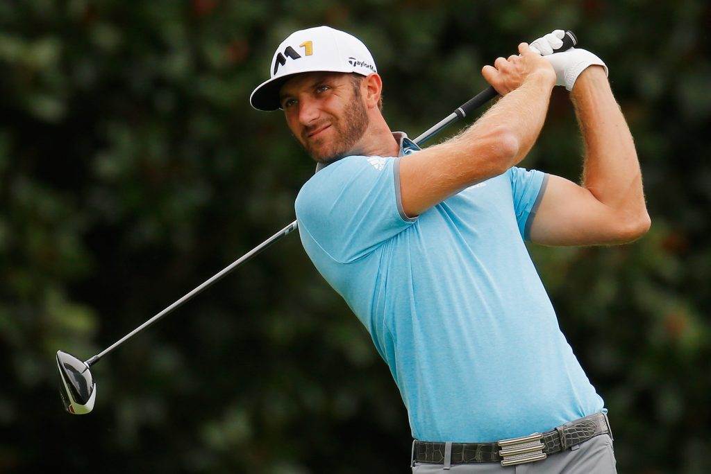 World #1, Dustin Johnson will be hoping for no injury scares.