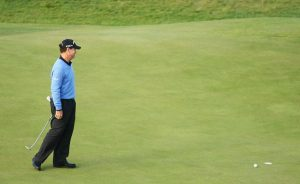 Tom Watson missed a Par Putt to win The Open in 2009 at the age of 59.