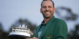 Sergio Garcia finally wins a 'Major.' Augusta 2017.